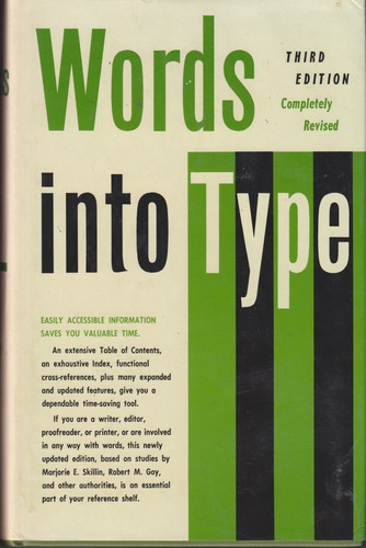 Words into Type