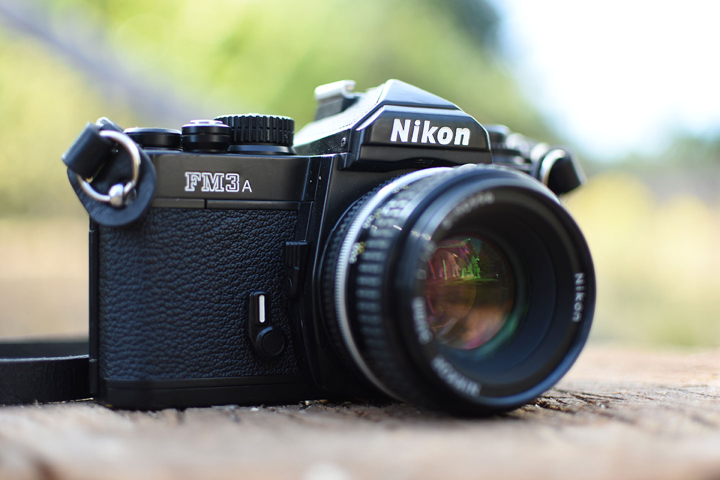 The Nikon FM3A film camera